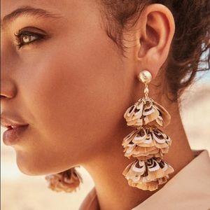 Kendra Scott Lenni Feathered earrings